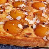 Tarte briochée aux abricots - Cuisine gourmande de Carmencita