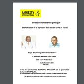 #TCHAD #France : Amnesty Internationale présente pendant 2 heures la dictature au Tchad.