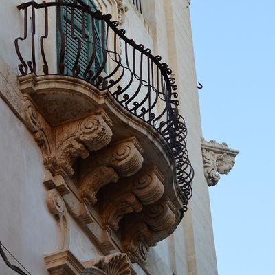 Balcons siciliens et..baroques