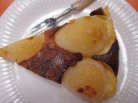 la tarte aux poires d'Huguette