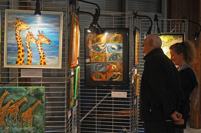 20ème exposition des artistes Santenois, du 5 au 7 avril 2014.