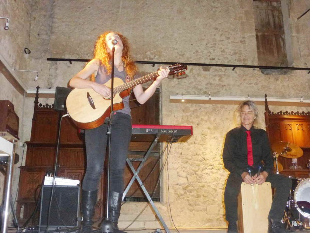 La chanson française à l'honneur à la chapelle Saint André de Neuvy-le-Roi