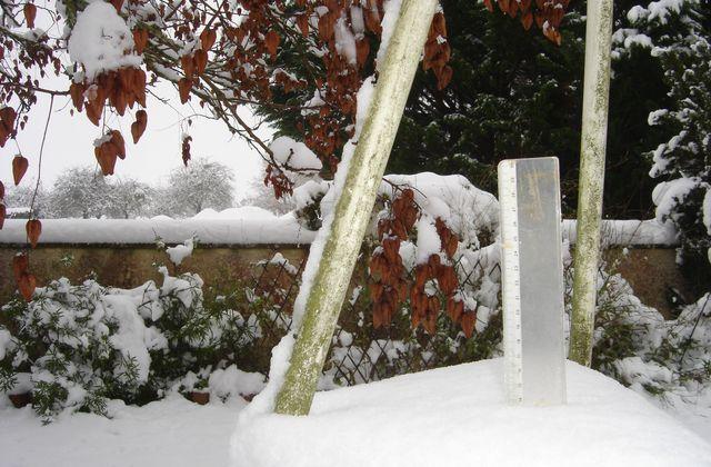 Encore la neige en 2010 !