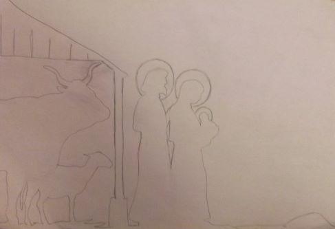 Girouette la Sainte Famille