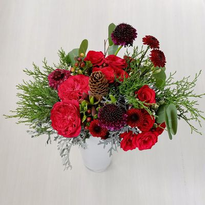 Bouquet Of Flowers In A Vase – A Lovely Gift for The Special Someone