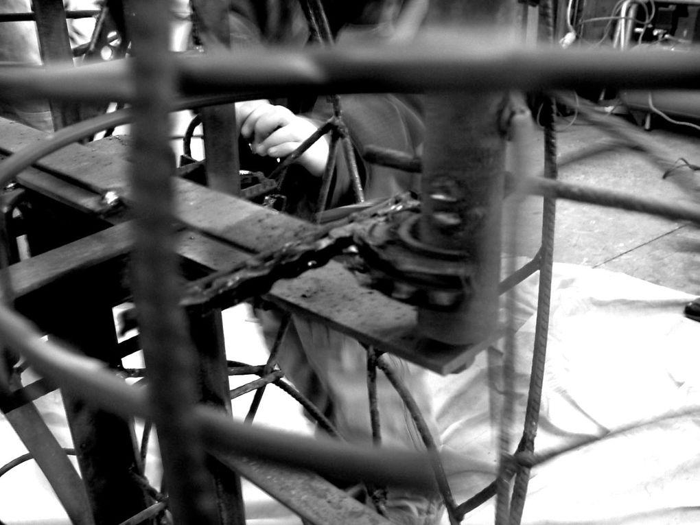 Projet de sculpture monumentale en acier H5 l3,5