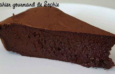 Gâteau fondant chocolat mascarpone (Cyril Lignac)