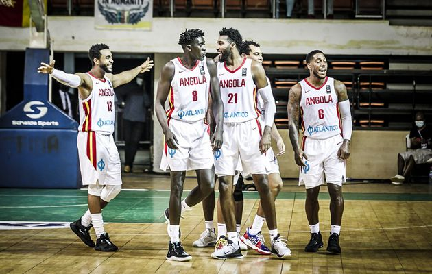 L'Angola humilie le Sénégal dans le dernier match des éliminatoires de l'AfroBasket 2021