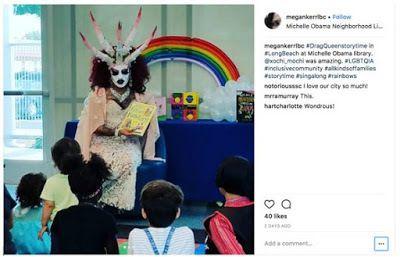 USA : C'est un démon drag queen qui lit des histoires LGBT aux enfants !