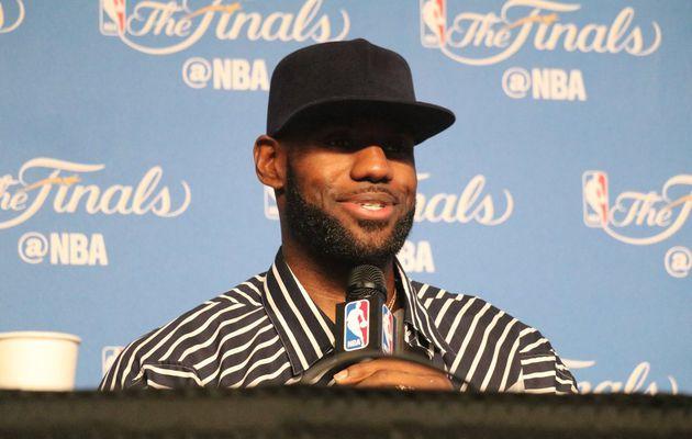 """LeBron James : """" Je veux aller là bas pour gagner un autre match et on est impatient de relever le challenge """""""
