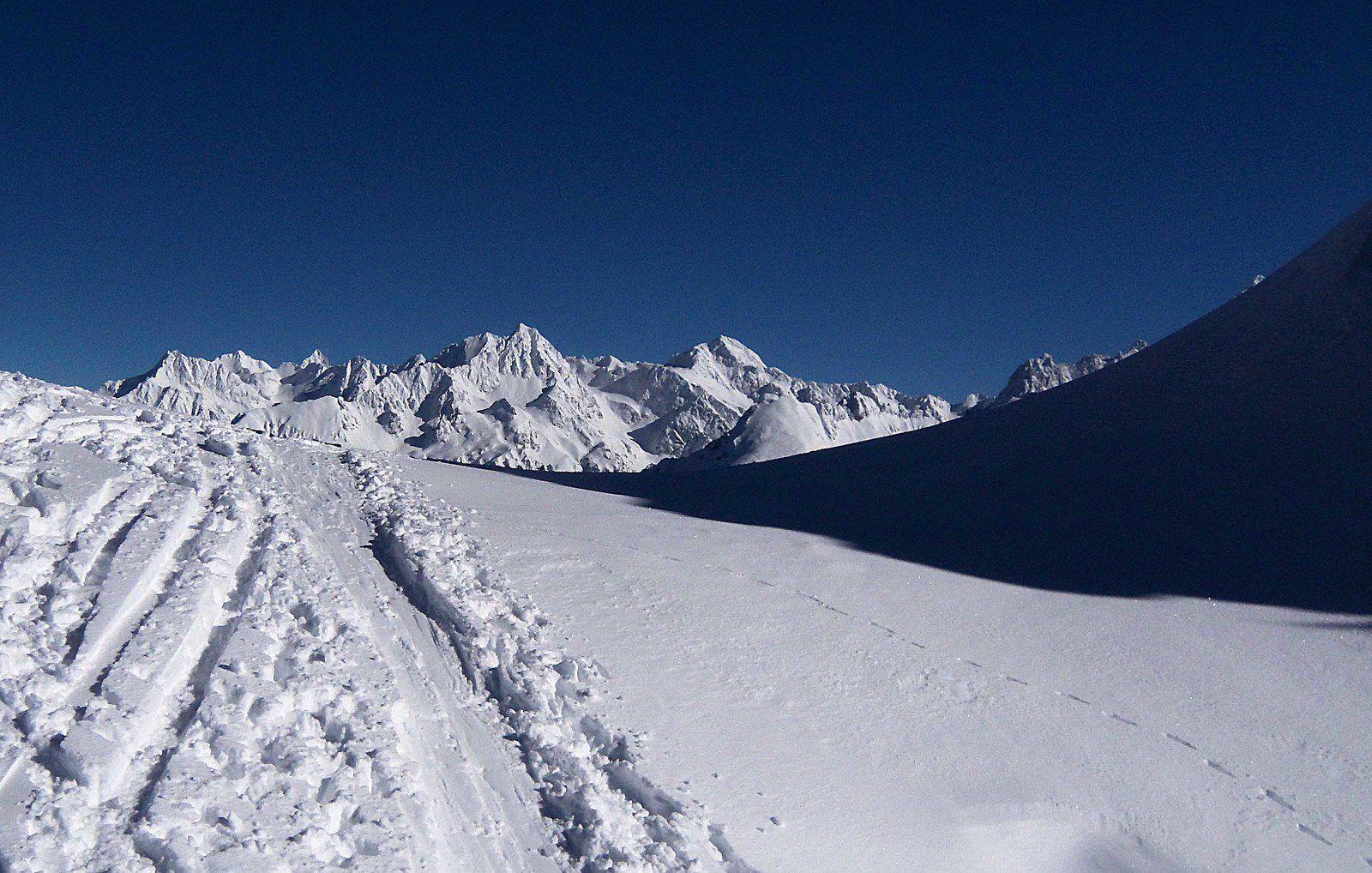 Sorties de ski de rando en janvier et février 2021
