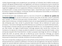 Principaux extraits du PNRR français évoquant la réforme de l'assurance chômage pour satisfaire les demandes de la Commission européenne...