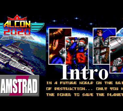 Amstrad​ CPC​ Intro​ - Alcon 2020