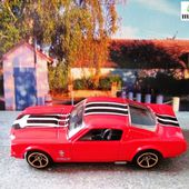 FORD MUSTANG FASTBACK 1965 HOT WHEELS 1/64 - car-collector.net