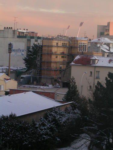 Depuis la Cité Vert En janvier 2009
