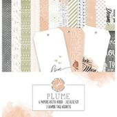 MPC-PL-COL : COLLECTION DE PAPIERS - Plume Fée du Scrap