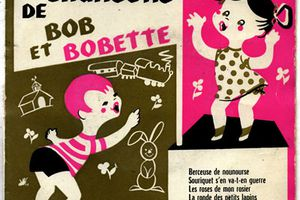 Lisette Jambel et Jean-Pierre Dujay - Les chansons de Bob et Bobette - 1955