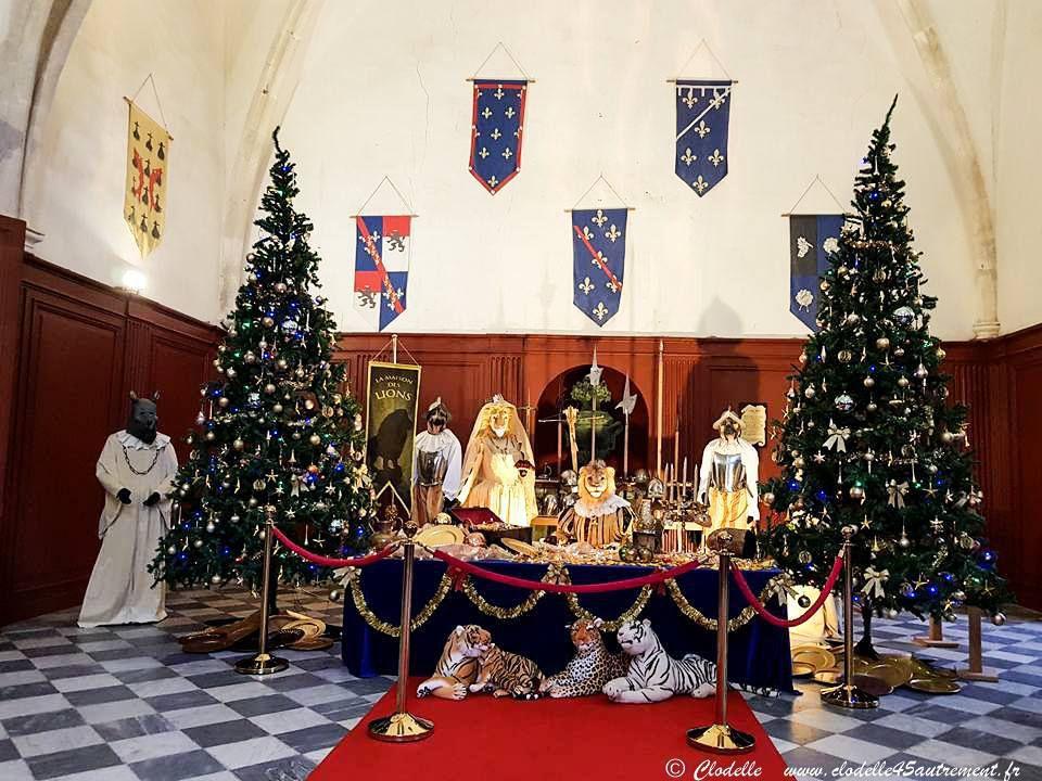 CHATEAU DE MEUNG SUR LOIRE : Photos d'une féerie de Noël imaginée pour les petits princes...