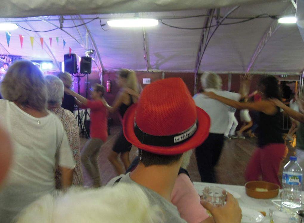 La cotriade de la fête des Langoustines : de l'ambiance ! (photos Marylis COSTEVEC)