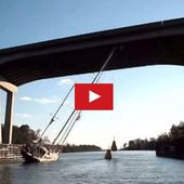 How to get a 80' rig, under a 65' bridge ? - Yachting Art Magazine