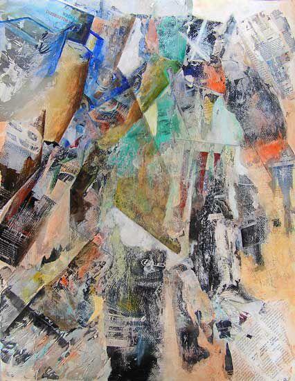 Chaos et construction - 16 peintures - 2003/2012