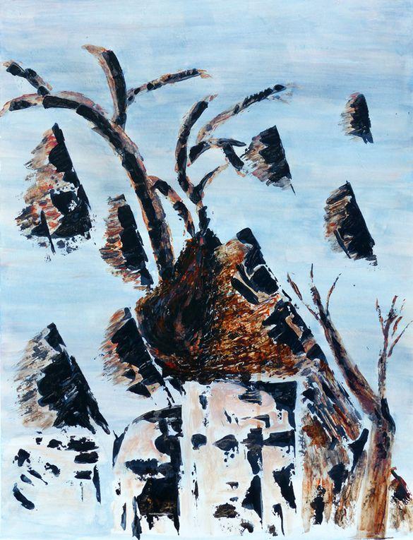 Peintures de Nicole Orbach