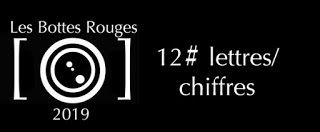 Semaine 12#lettres/chiffres