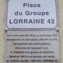 Histoire : le groupe Lorraine 42