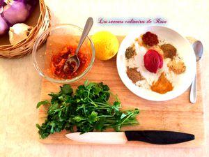Sardines farcies avec la derssa (marinade orientale)
