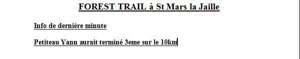 Les Sables d'Olonne - Nantes Montaigu - Belle Ile - Virades de l'Espoir