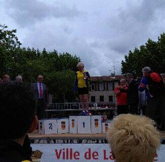 10KMS DE LA GARDE.....PODIUM POUR YVONNE F