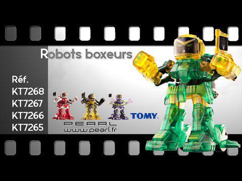 Les robots boxeurs [Mes premières vidéos chez PEARL]