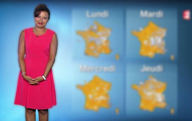 ANAIS BAYDEMIR @France2tv pour LA METEO ce soir #vuesalatele