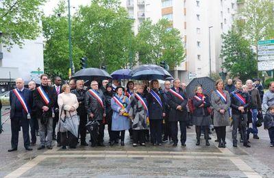 Le Couac de Madame GOUETA pour ce 8 mai lors de la dépose de la Gerbe par Madame la Députée LREM : Bénédicte Pételle