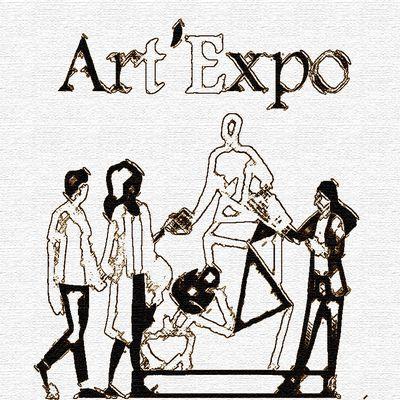 « Art'Expo 2021 » Un partenariat entre les artistes, l'association 7Lieux et la commune de Sainghin-en-Mélantois - Nord de France.