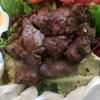 Salade au foie de volaille
