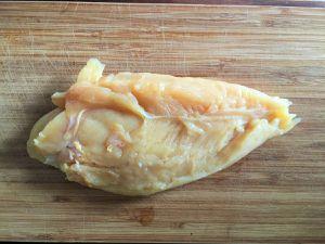 Roulé de poulet au basilic et au fromage
