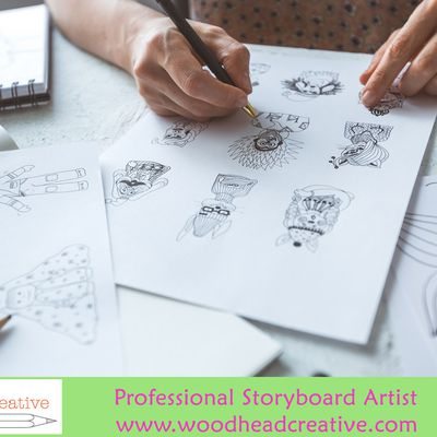 Experienced Professional Storyboard Artist in London | Woodhead Creative