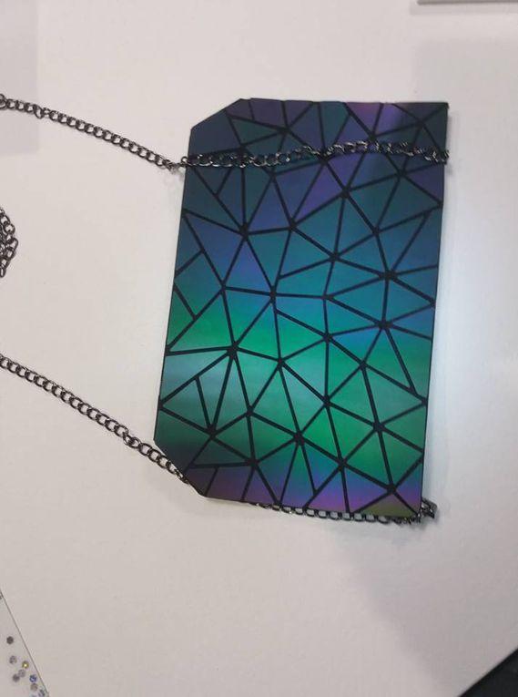 Ma pochette Geolumya réflecteur de lumière !