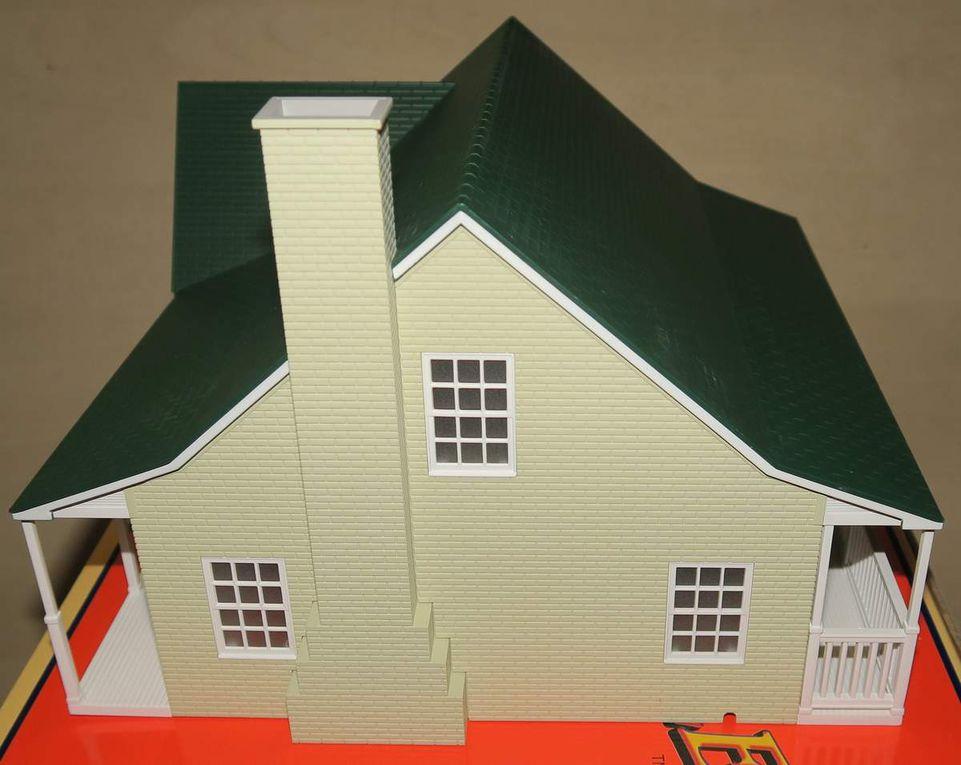 Maison en pierres Fieldstone House 6-34112 échelle O Lionel