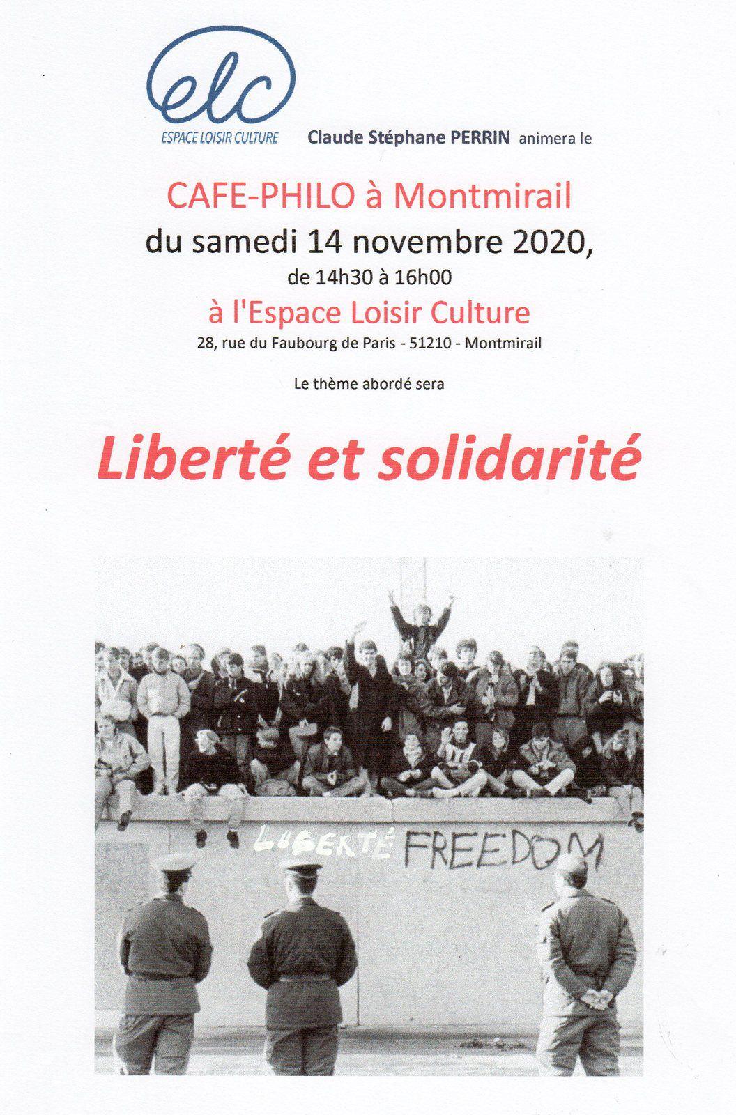CAFE-PHILO DE MONTMIRAIL (51) le 14 novembre 2020