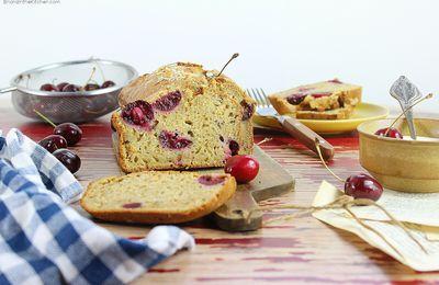 Cake au Yaourt et Cerises