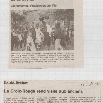 ARCHIVES/Dielloù miz Du (novembre)1998