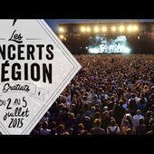 Les concerts de la Région