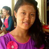 Le Thanaka - Noy et Gilbert en Thaïlande