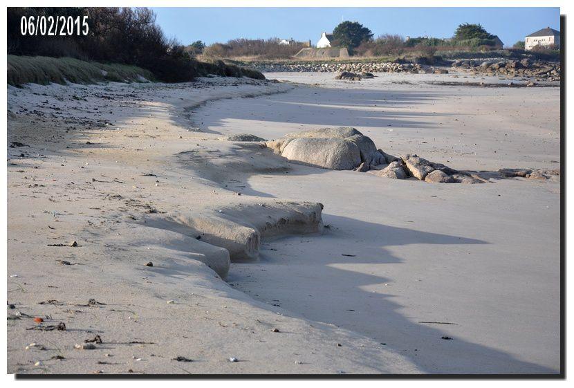 Une série du 6 février à marée haute puis à marée basse
