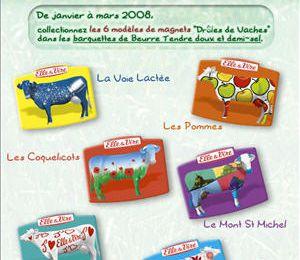 Série ELLE et VIRE : les drôles de vaches