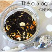 Thé aux agrumes maison - La cuisine d'Anna et Olivia