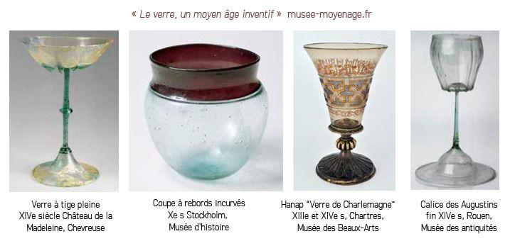 Les verres, une forme par boisson !