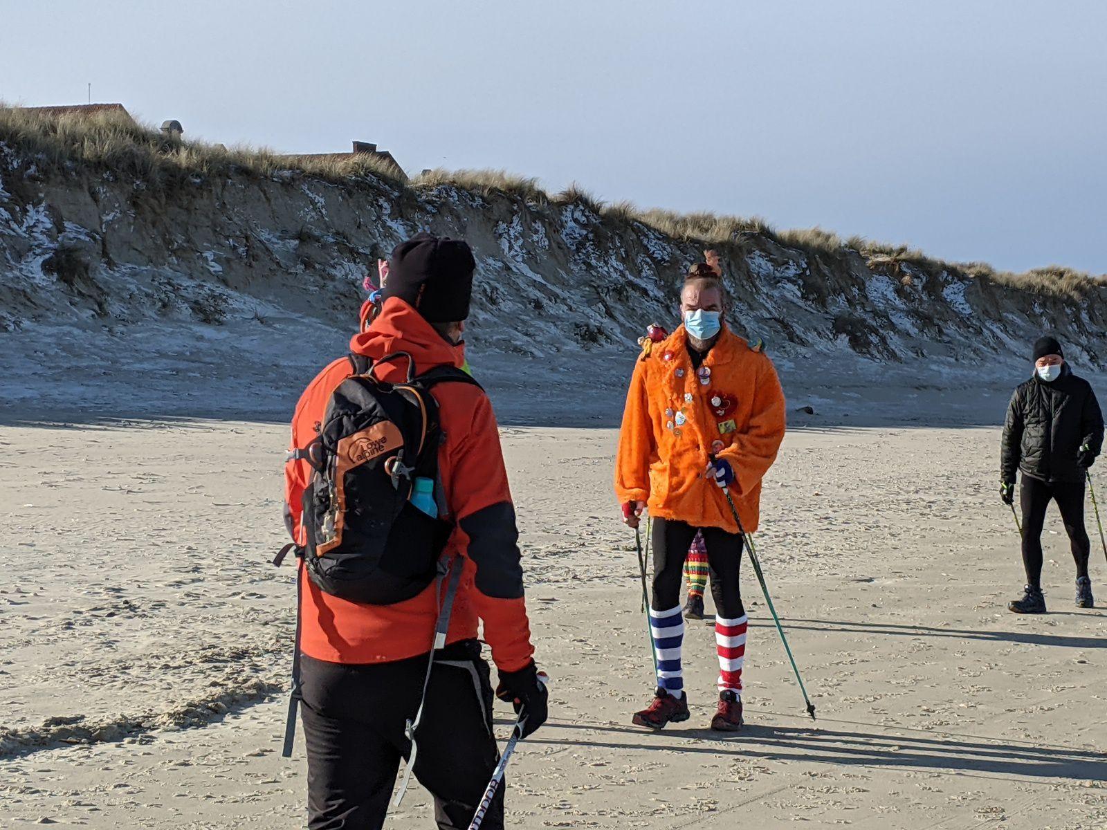 «Carnamarche» nordique dans la dune Marchand